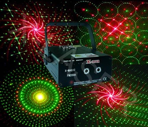 Лазер X-Laser X-MAGIC 230 RG fireworks laser light