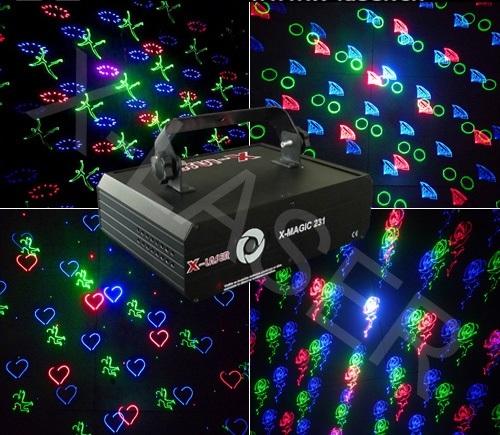 Лазер анимационный X-Laser X-MAGIC 231 RGB Animation fireworks laser light
