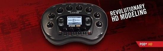 Процессор эффектов для электрогитары LINE 6 PODHD Bean