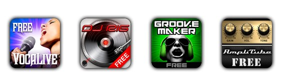 DJ микшер для iPhone, iPod touch или iPad IK MULTIMEDIA IRIG MIX