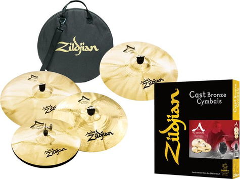 Набор тарелок ZILDJIAN A CUSTOM SET 5 PACK - 84647 за 27956.9 грн.