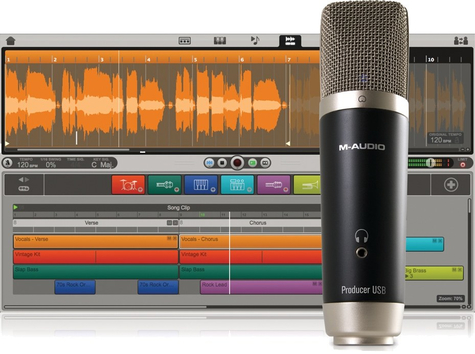 Студийный USB-микрофон M-AUDIO VOCALSTUDIO - 117976 за 3258 грн.